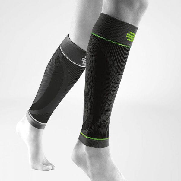 Sports Compression Sleeves Lower Leg Black