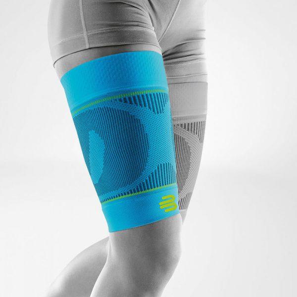 Sports compression sleeves upper leg rivera